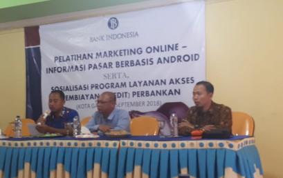 Pelatihan Pemasaran Online Bawang Merah, Dosen IIB Darmajaya Jadi Narasumber