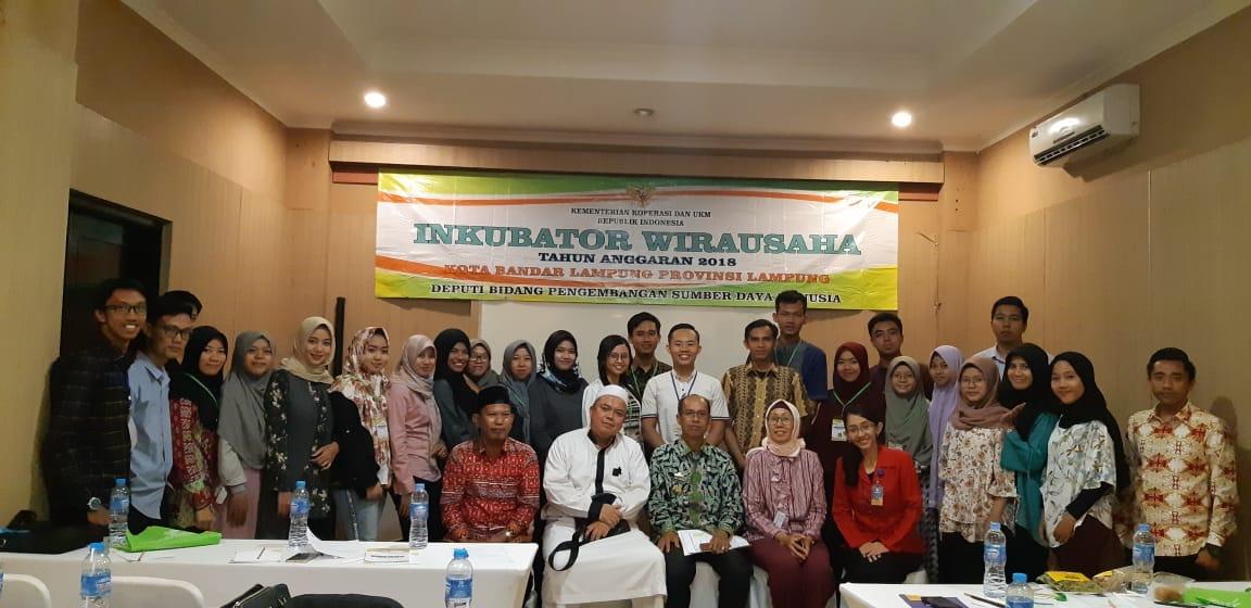 Inkubitek Darmajaya – Kementerian Koperasi dan UKM RI Gelar Inkubator Wirausaha