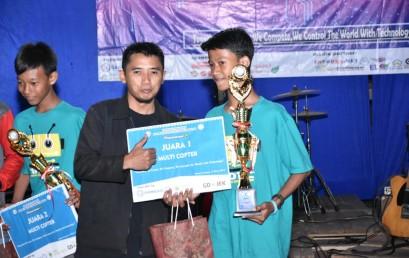 SMP Muh Ahmad Dahlan Borong Gelar Juara Lomba IT Development IV IIB Darmajaya
