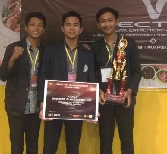 Kalahkan Perguruan Tinggi Ternama di Indonesia, Mahasiswa Darmajaya Juara Business Plan SECTION 2019