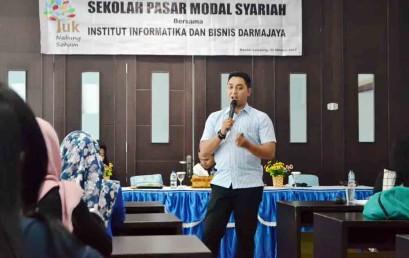 Sekolah Pasar Modal Syariah Darmajaya, Saham Itu Bukan Judi