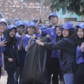 Aksi Bersih Lingkungan Akhiri Ories di Kampus Biru Darmajaya