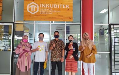 Inkubitek Darmajaya Kontrak Kerjasama dengan Pemenang DSC 2020