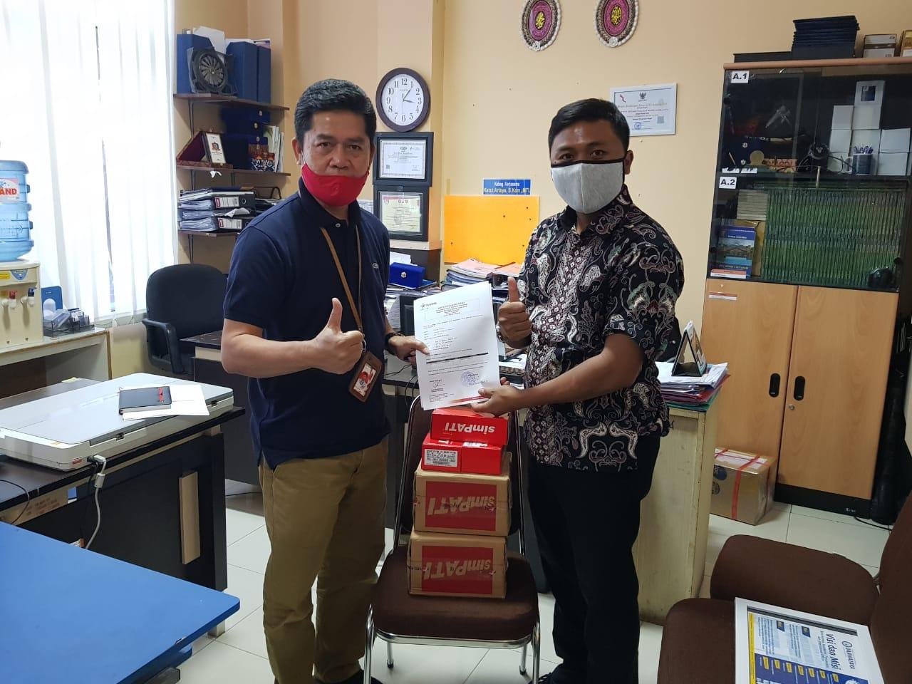 IIB Darmajaya Terima Ribuan Paket Perdana Kuota untuk PMBJJ