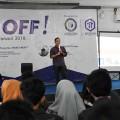 Kick Off DSC 2018, 3 Pembicara Gugah Mahasiswa Berbisnis