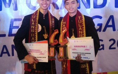 Mahasiswa Darmajaya Sandang Mekhanai Harapan I dan Persahabatan Tulangbawang