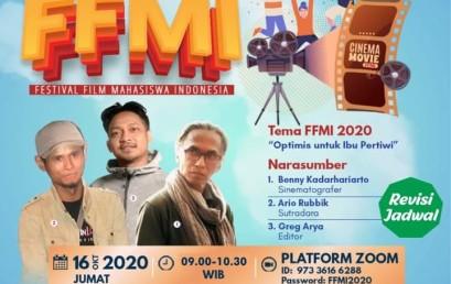 Yuuk Ikuti Sosialisasi FFMI 2020 bersama Praktisi Film Nasional