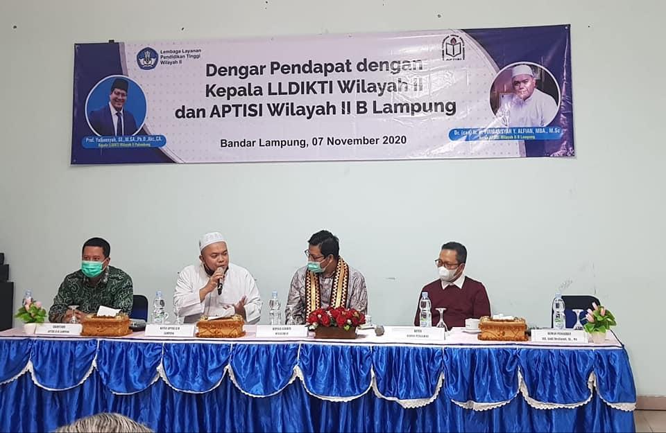 APTISI B Lampung Dukung LLDikti Wilayah II Tingkatkan Publikasi Ilmiah