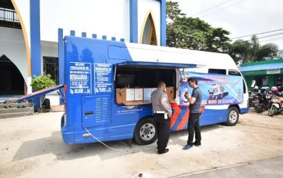 Perdana, SIM Keliling Goes to Campus Sambangi IIB Darmajaya