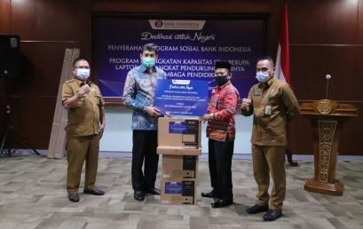 IIB Darmajaya Terima Bantuan Perangkat PJJ Program Sosial Bank Indonesia