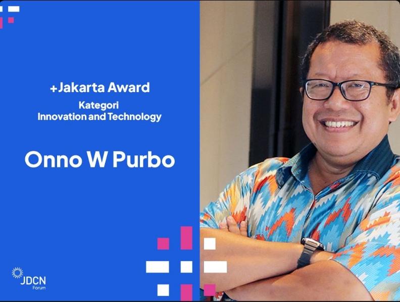 Dosen IIB Darmajaya Raih Penghargaan Jakarta Award & JDCN Forum 2020