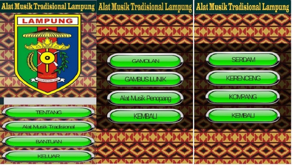 Belajar Bahasa Kawi Via Android Rancangan Mahasiswa Darmajaya