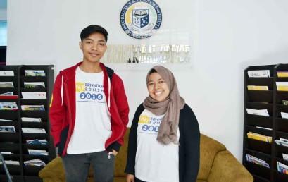 Dua Mahasiswa Malaysia Belajar Mengenal Indonesia di Darmajaya
