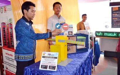 Mahasiswa Darmajaya Rancang Sistem Portal Otomatis