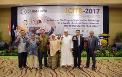 ICITB Darmajaya 2017 Hadirkan Pembicara Taiwan