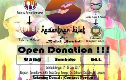 Gerakan Sosial Ramadhan Mahasiswa Darmajaya