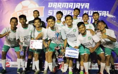 Darmajaya Student Futsal Tournament 2017, SMK Negeri 4 Juaranya !