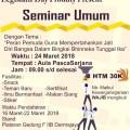 Ayo Ikuti Seminar Umum Legislatif MPM Darmajaya