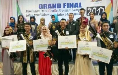 Juarai Duta Genre 2017, Anggi Siap Wakili Lampung Ke Tingkat Nasional