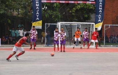 72 Tim Berebut Juara Futsal Turnamen IIB Darmajaya 2019