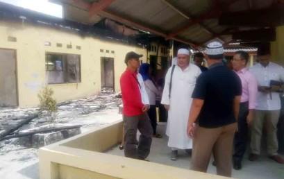 Semua Pihak Diminta Peduli Kebakaran Gedung Yayasan Dharma Wacana Metro