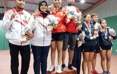 Tenis Meja Porprov Lampung, Mahasiswa Darmajaya Sabet 4 Medali