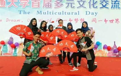 Mahasiswa Darmajaya Bangga Kenalkan Tari Bedana Kreasi di Tiongkok