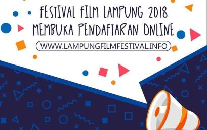 Festival Film Lampung 2018 UKM DCFC, Buka Pendaftaran Online !
