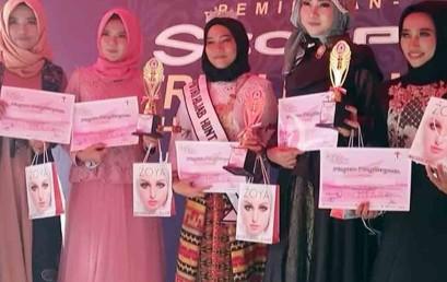 Mahasiswa Darmajaya Juara III Puteri Hijab Hunt 2018 Lampung Tengah