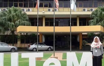 Mahasiswa Joint Research Darmajaya Ini Berprestasi di Malaysia