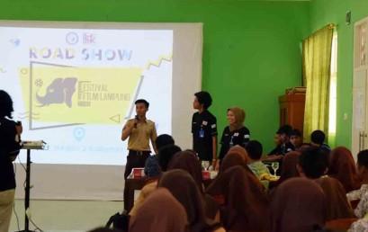 Intip Keseruan Road Show Festival Film Lampung DCFC