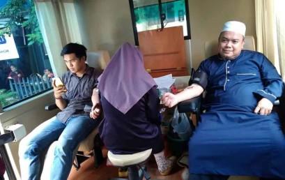 "KSR Darmajaya Gelar Aksi ""Blood Donation"""