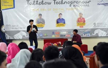 Co Founder Lampung Geh Ajak Mahasiswa Darmajaya Berkarya Via Medsos