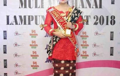 Duta Kampus IIB Darmajaya Raih Juara II Muli Lampung Barat