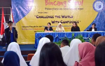 Mansyurni Abadi, Alumni Darmajaya yang Mampu Kuliah dan Bekerja di Luar Negeri