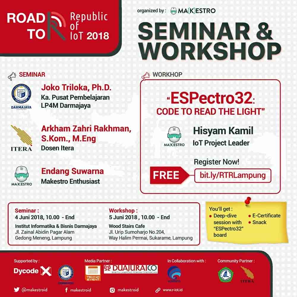 Yuk Ikut, Seminar Road to RioT di Darmajaya
