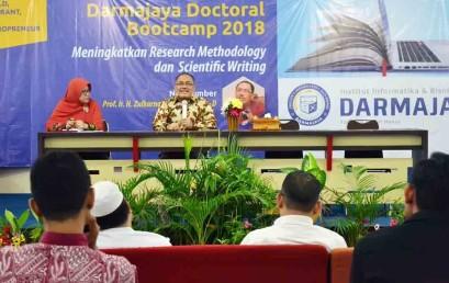 Darmajaya Doctoral Bootcamp, Prof. Zulkarnain Berbagi Kiat Kelola PTS