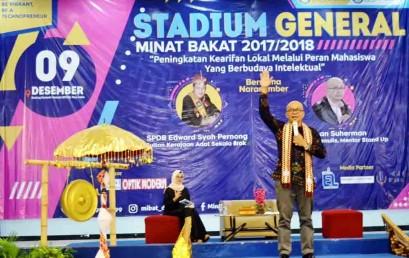 Stadium General Darmajaya, Notulen ILK ini Ajak Mahasiswa Berbudaya Intelektual