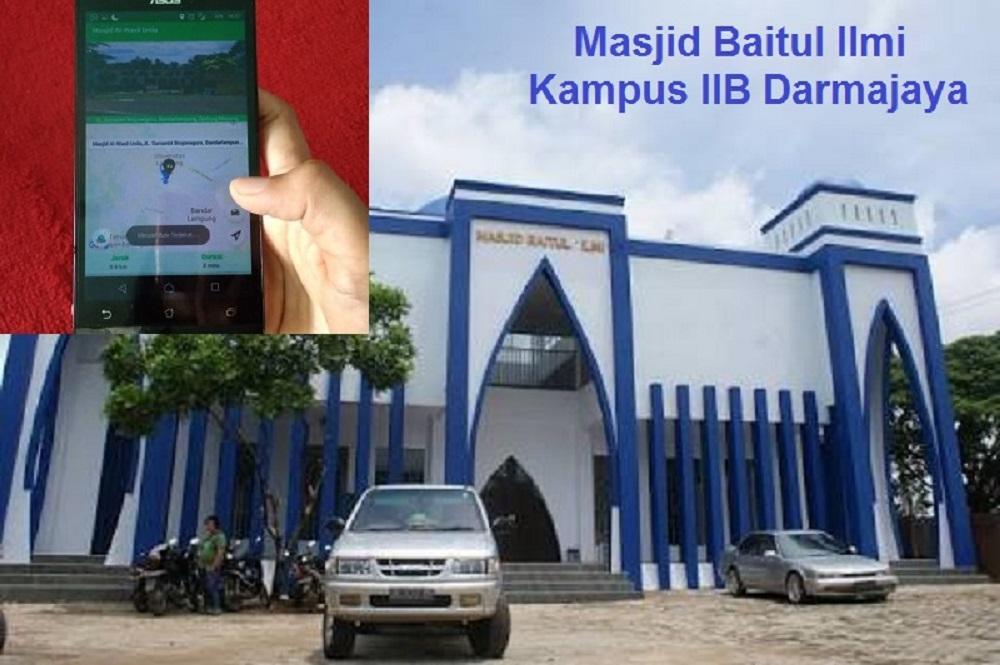 Yuk…Cari Tempat Ibadah Terdekat via Android ala Rancangan Mahasiswa IIB Darmajaya