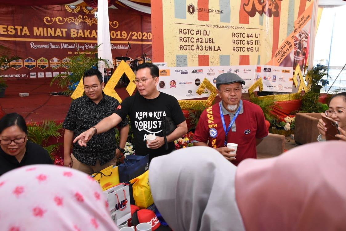 IMA Lampung Ajak Mahasiswa IIB Darmajaya Ikut Gerakan Cinta Robusta