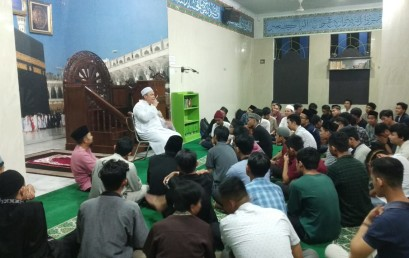 Berikan Pemahaman Ibadah Sehari-hari, Mahasiswa IIB Darmajaya Mabit Tiga Hari