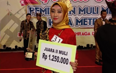 Mahasiswi IIB Darmajaya Sandang Muli 2 Kota Metro 2019