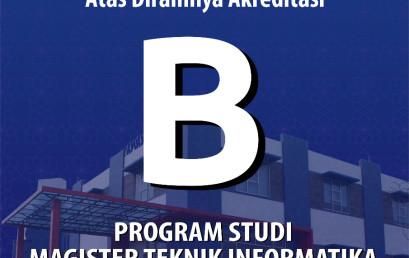 Prodi Magister Teknik Informatika Darmajaya Raih Akreditasi B