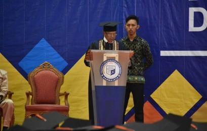Orasi Ilmiah, Prof Bustomi : TQM Berpengaruh dalam Keunggulan Kompetitif di Era 4.0