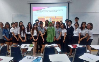Dosen Darmajaya Mengajar Kelas Internasional di Thailand