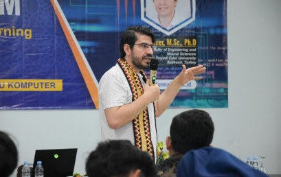 IIB Darmajaya Gelar Kuliah Umum Big Data and Machine Learning Application