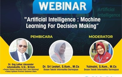 Artificial Intelligence : Machine Learning for Decision Making