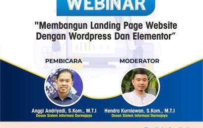 Membangun Landing Page Website Dengan WordPress dan Elementor