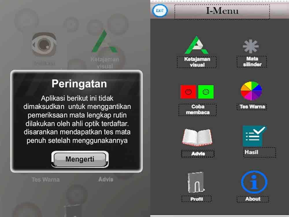 Mahasiswa Darmajaya Rancang Aplikasi Indikasi Mata Rabun Berbasis Android